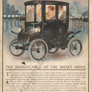 1910 Baker Electric Advertisement