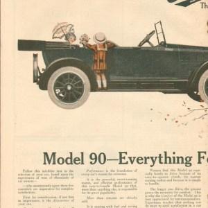 1910 Overland Advertisement #6