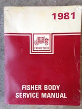1981 Fisher Body Shop Manual