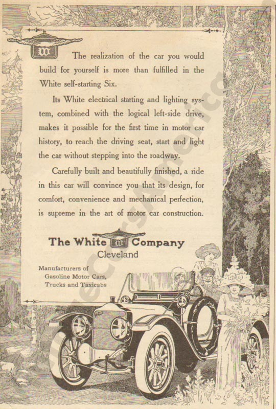 1912 White Advertisement #1
