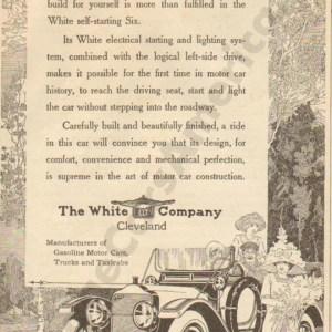 1912 White Advertisement #1