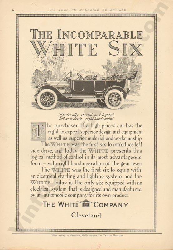 1913 White Advertisement #1