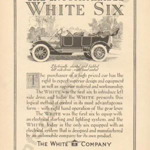 1913 White Advertisement #1