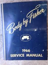 1966 Fisher Body Shop Manual
