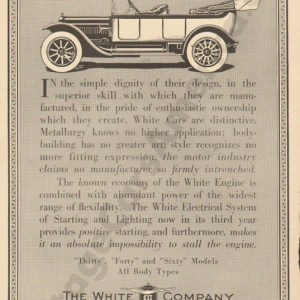 1914 White Advertisement