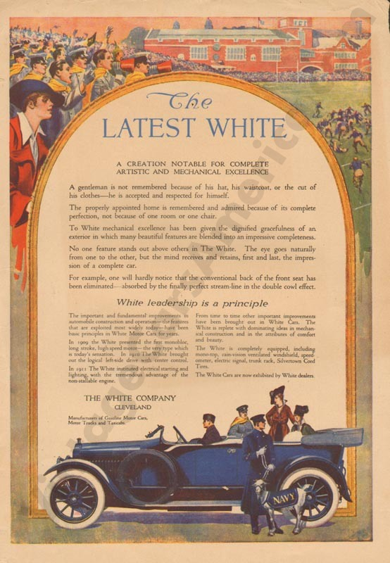 1915 White Advertisement #2