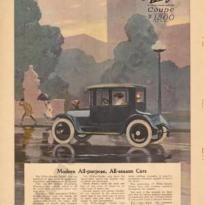 1916 Overland Advertisement #7