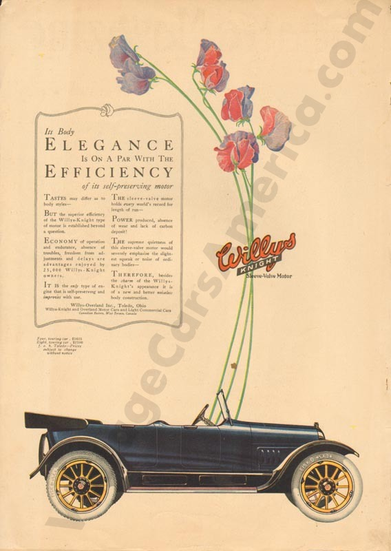 1918 Overland Advertisement #4