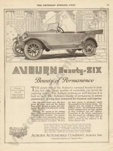 1919 Auburn Advertisement #2