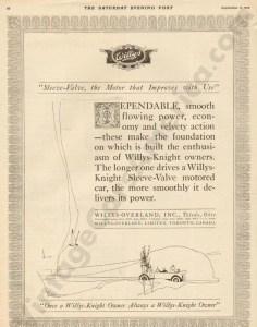1919 Overland Advertisement #1