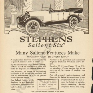 3/4/1920 Stephens Advertisement