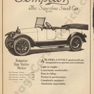 3/11/1920 Templar Advertisement
