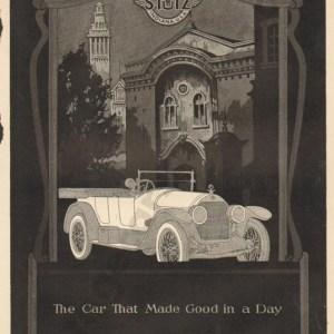 1920 Stutz Advertisement #2