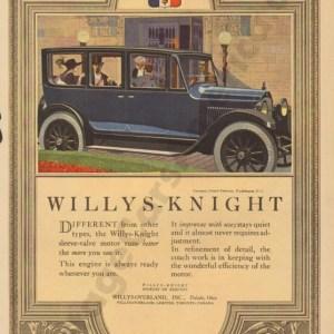 1920 Overland Advertisement #6