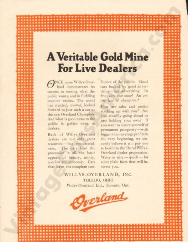 1924 Overland Advertisement #4