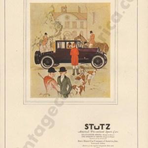 1924 Stutz Advertisement
