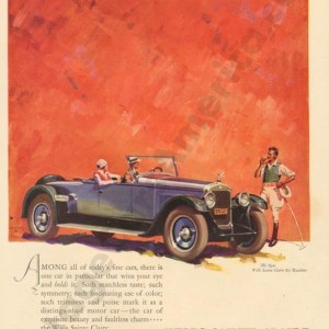 1925 Wills Saint Claire Advertisement #3