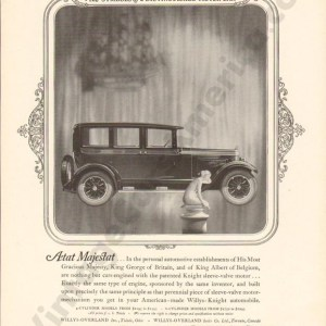 1925 Overland Advertisement #3