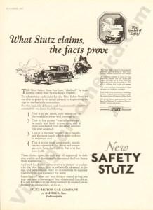 1926 Stutz Advertisement #3