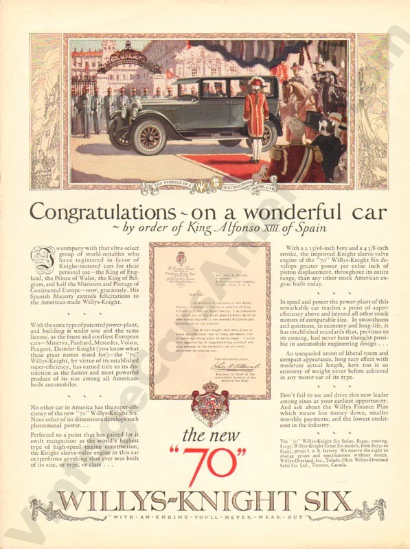 1926 Overland Advertisement #3