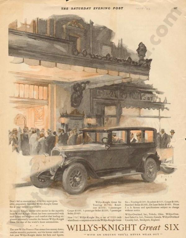 1926 Overland Advertisement #6
