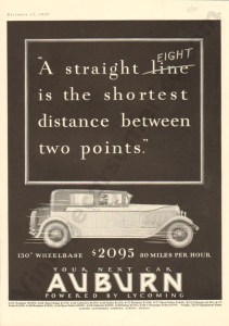 1927 Auburn Advertisement #12
