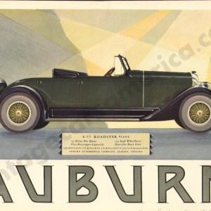 1927 Auburn Advertisement #1