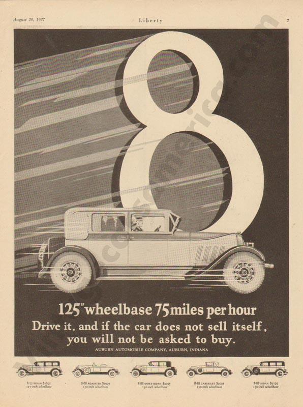 1927 Auburn Advertisement #14