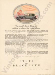 1927 Stutz Advertisement #2