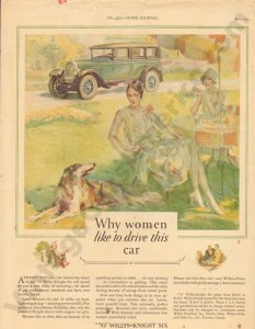 1927 Overland Advertisement #2