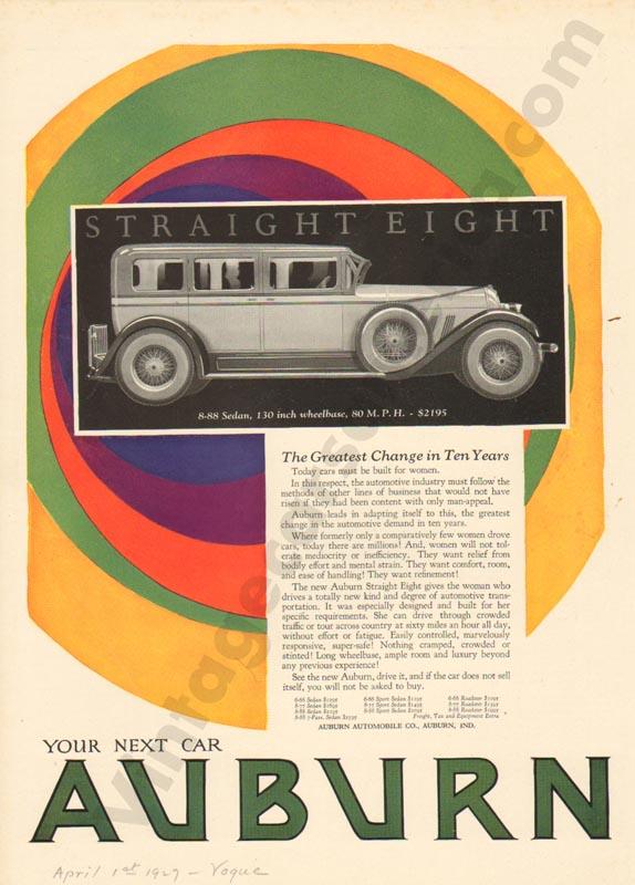 1927 Auburn Advertisement #25