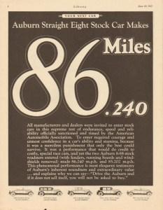 1927 Auburn Advertisement #4