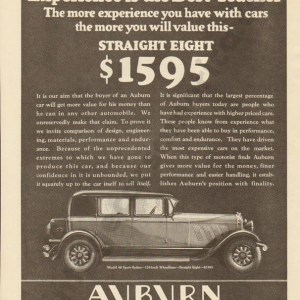 1928 Auburn Advertisement #10