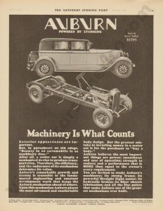 1928 Auburn Advertisement #16