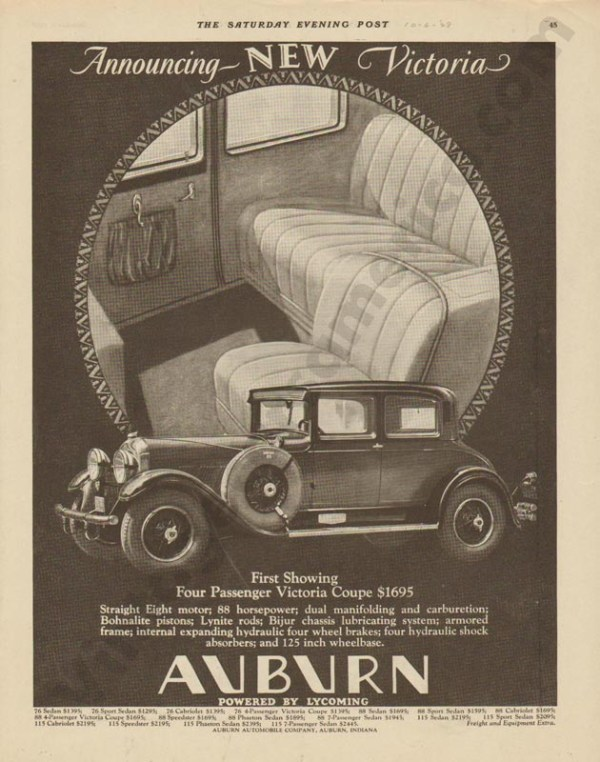 1928 Auburn Advertisement #22