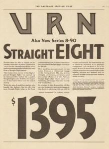 1928 Auburn Advertisement #25