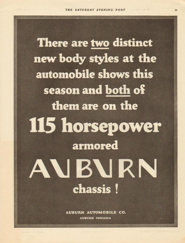 1928 Auburn Advertisement #7