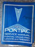 1981 Pontiac Shop Manual