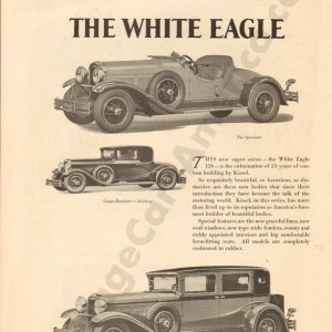 1929 White Eagle Advertisement #2