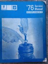 1976 Pontiac Shop Manual