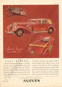 1934 Auburn Advertisement #3