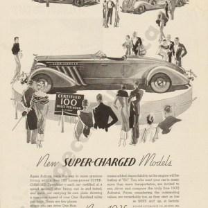1935 Auburn Advertisement #4