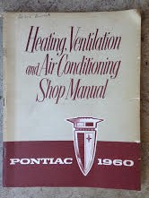 1960 Pontiac Heating, Venting, and Air Conditioning Shop Manual