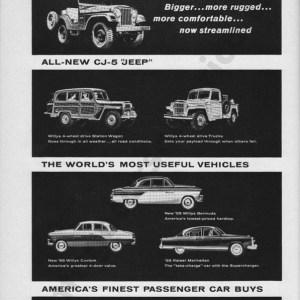 1955 Overland Advertisement