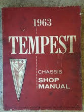 1963 Pontiac Tempest Shop Manual