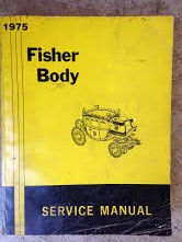 1975 Fisher Body Shop Manual
