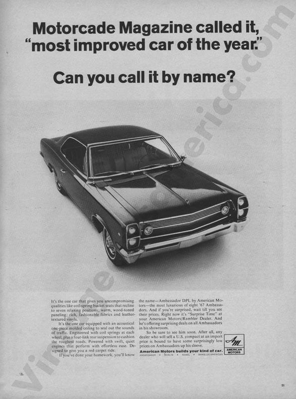 1967 American Motors Advertisement #4