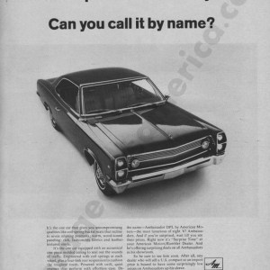 1967 American Motors Advertisement #4