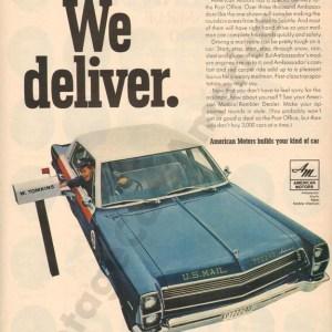 1967 American Motors Advertisement #6
