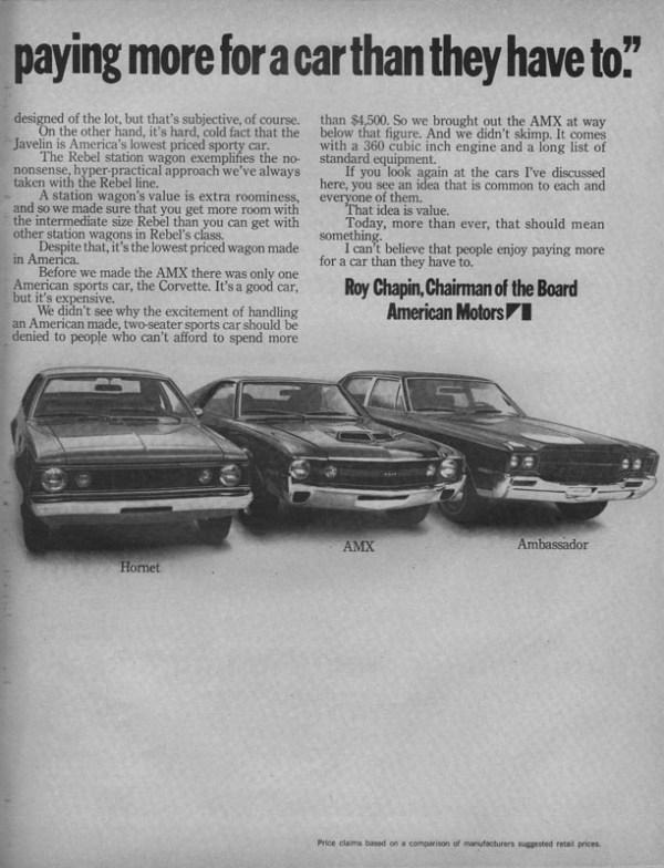 1970 American Motors Advertisement #2